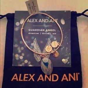 Brand New Alex and Ani Guardian Angel Bracelet